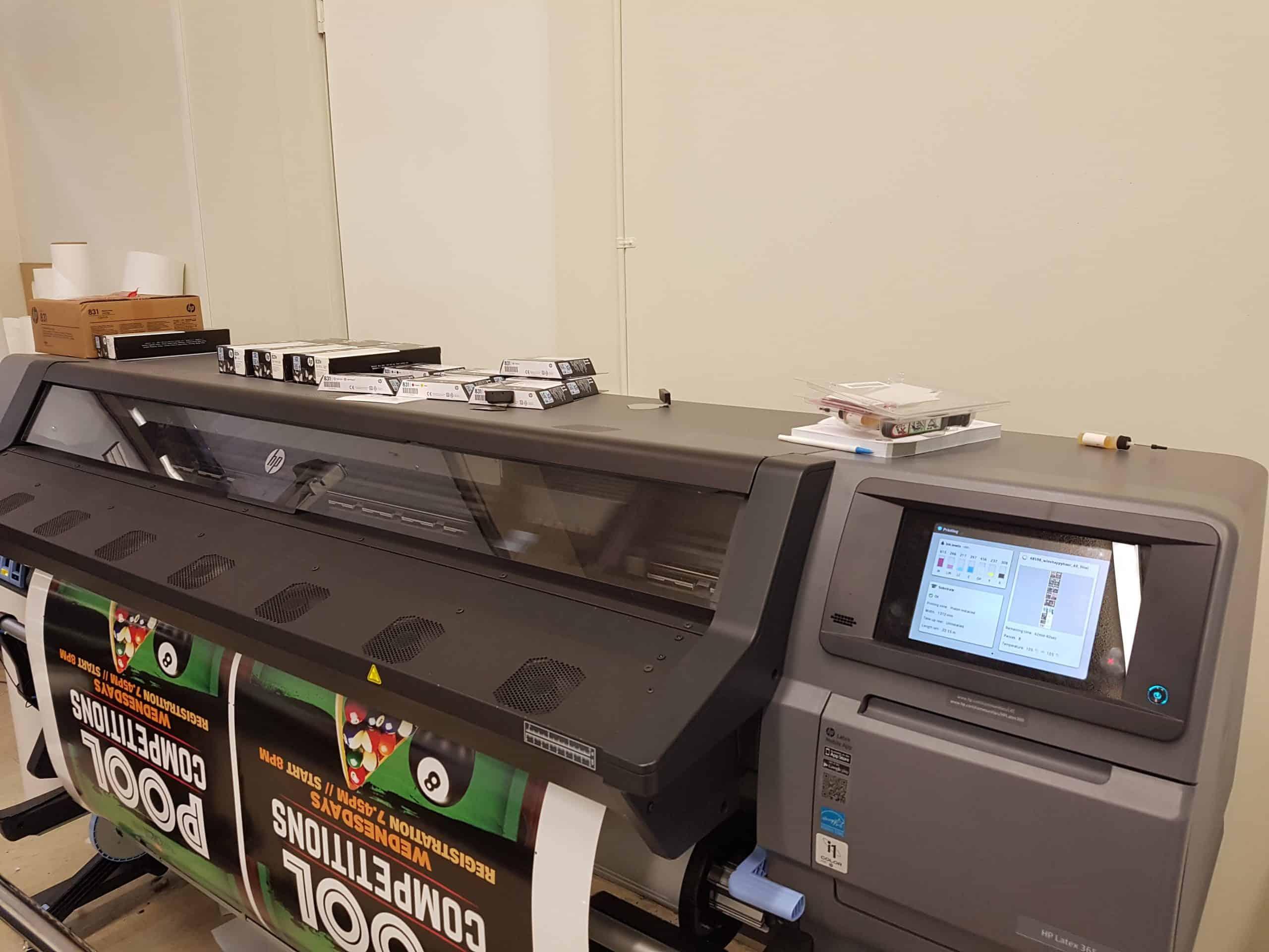 Photo of printing machines at Sydney's Fastest Printer